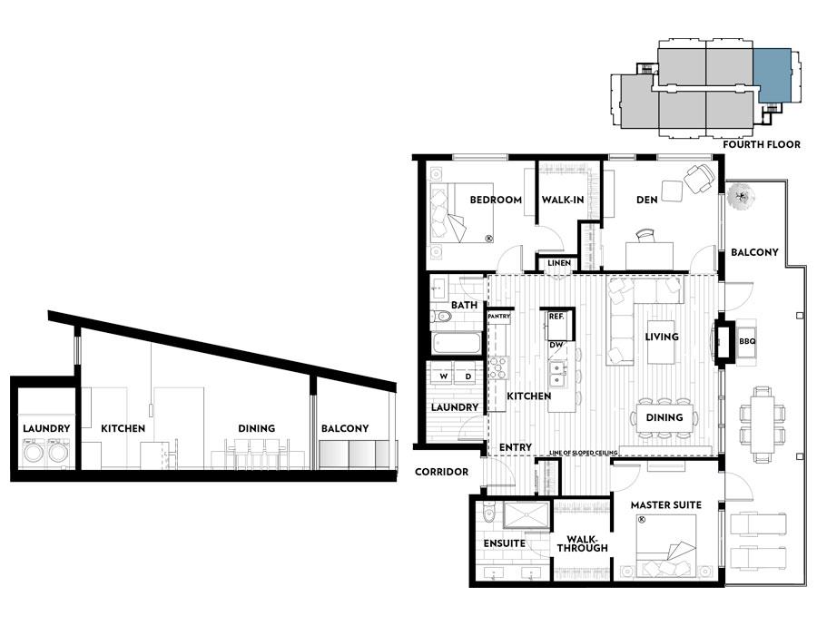 Regatta Park, Floorplan A401