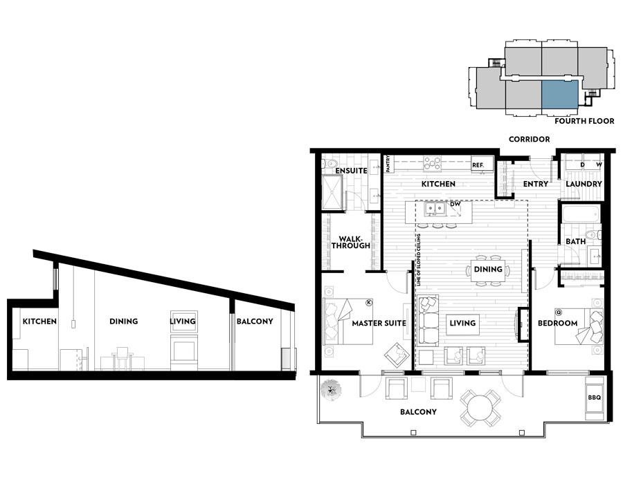 Regatta Park, Floorplan A403